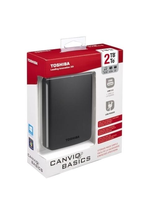 "Toshiba Canvio Basics 2TB ó Seagate Maxtor 1TB - Disco duro externo 2.5"" - SuperSpeed USB 3.0 - negro"