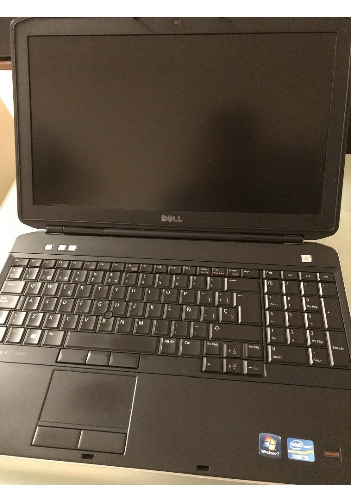 Portátil DELL Latitude E6530 Intel Core i5 2.5GHz 4GB WIN10 Ocasion