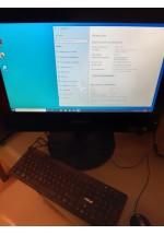 Ordenador ALL IN ONE Lenovo M73z 20p Intel Core i5-4570s Quad Core 2.9GHz 8GB 128SSD Ocasión Tara Estética