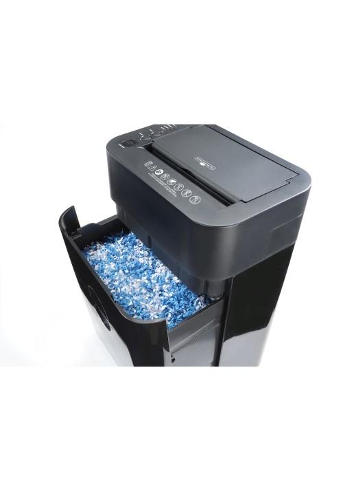 Destructora DAHLE Automática ShredMATIC 80 80 - 8/80 hojas, Partículas 4,3x10 mm, nivel seguridad P4, entrada 220 mm, 17 litros
