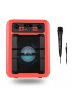 "NGS - Altavoz Roller Lingo - Bluetooth/TWS - 20W - Micro SD - USB - AUX - 5"" - Pantalla LED"
