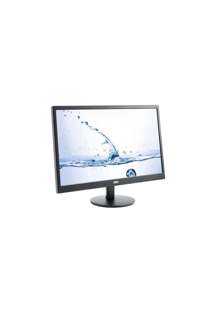 "Monitor PC AOC LED - 23.6"" - MVA - 1920 x 1080 - 250 cd/m2 - 1000:1 - 5 ms - 2 x HDMI - VGA - altavoces - negro"