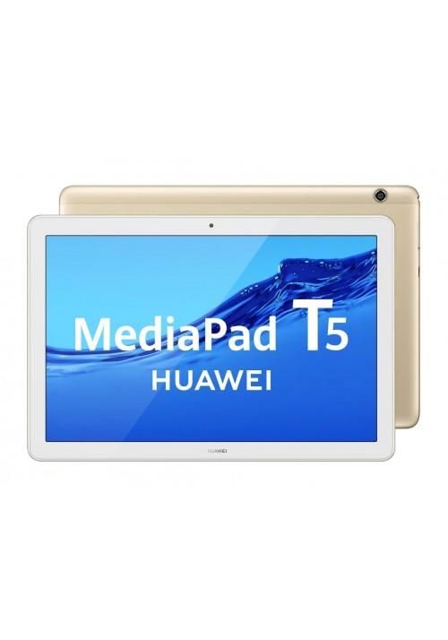 Tablet Huawei MediaPad T5 10,1FULLHD 3+32 GB Wi-Fi Oro / Blanco