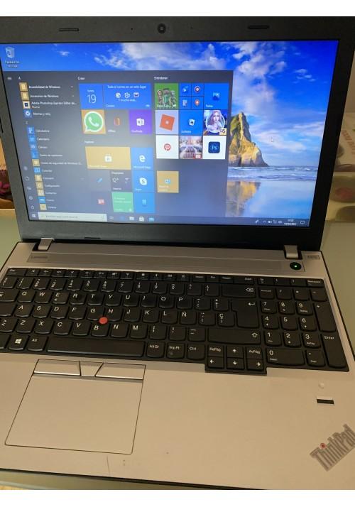 Portatil LENOVO THINKPAD E570 15,5HD Intel Core i5-7200U 8GB 240GB SSD Ocasión