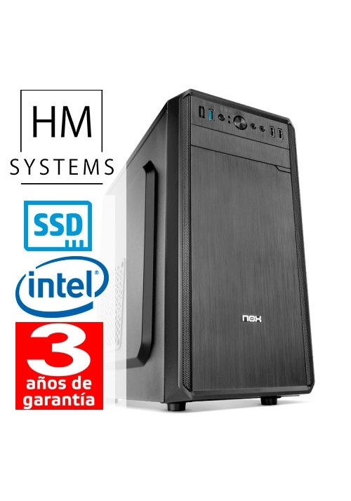 CPU GAMING HM Intel Core i5-9400F - Minitorre 8GB 240SSD GEFORCE GT710