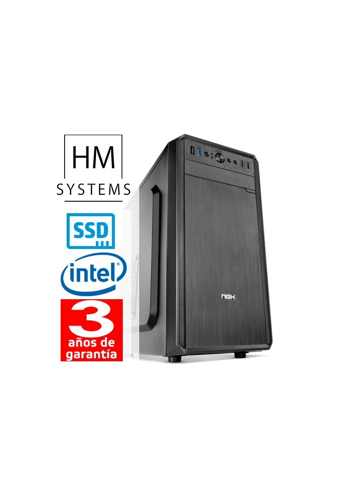CPU GAMING HM Intel Core 5 9400F - Minitorre 8GB 240SSD