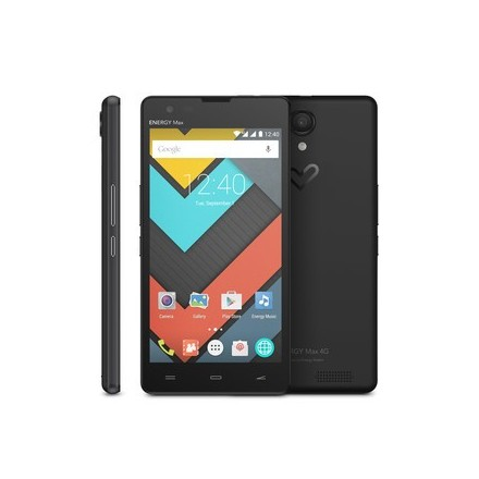 "Smartphone Libre ENERGY PHONE MAX 4G 5"" IPS HD Quad Core Android 5.1"