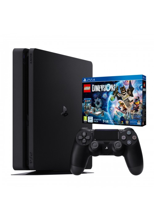 Consola PlayStation 4 Slim (PS4 Chasis D) Negra 1TB + JUEGO