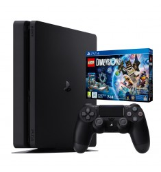 Consola PlayStation 4 (PS4 Slim) Negra 1TB + Juego