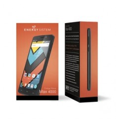 Smartphone ENERGY PHONE MAX 4000 Dual SIM + Cover MAX Reacondicionado