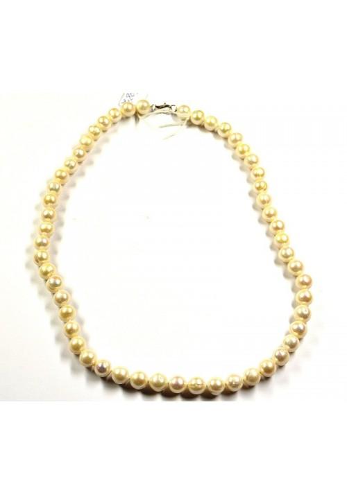 Collar de Perlas naturales